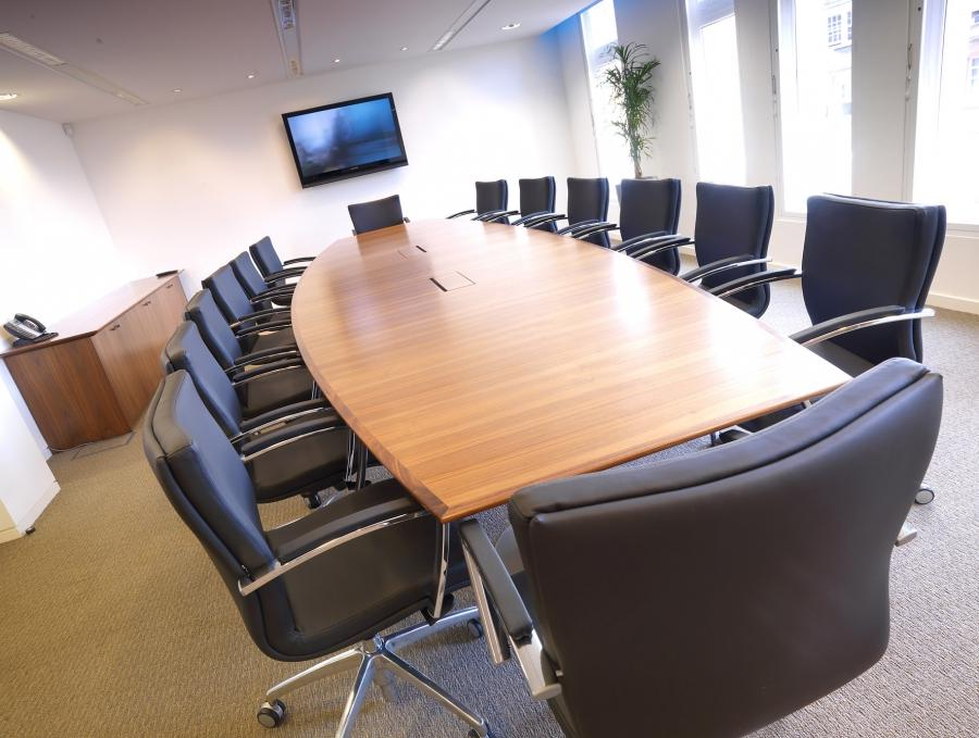 Executive Office Furniture Bespoke Boardroom Table
