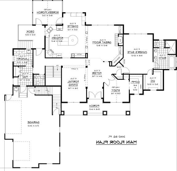 Luxury House Plans Photos