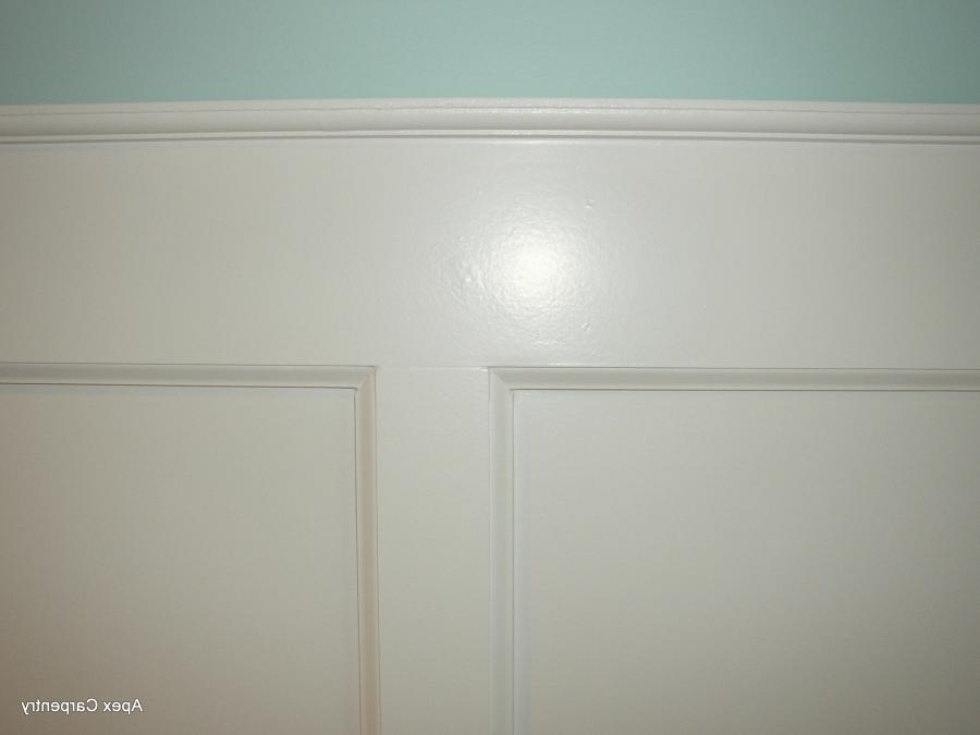 Flat Panel Wainscoting Photos