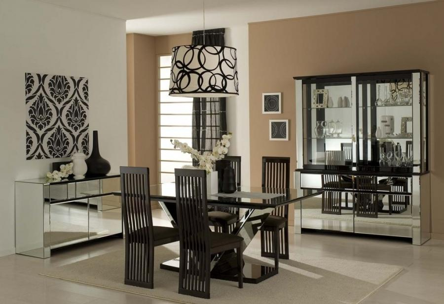 Dining Room Table Design Dining Table Design In Black Retro...