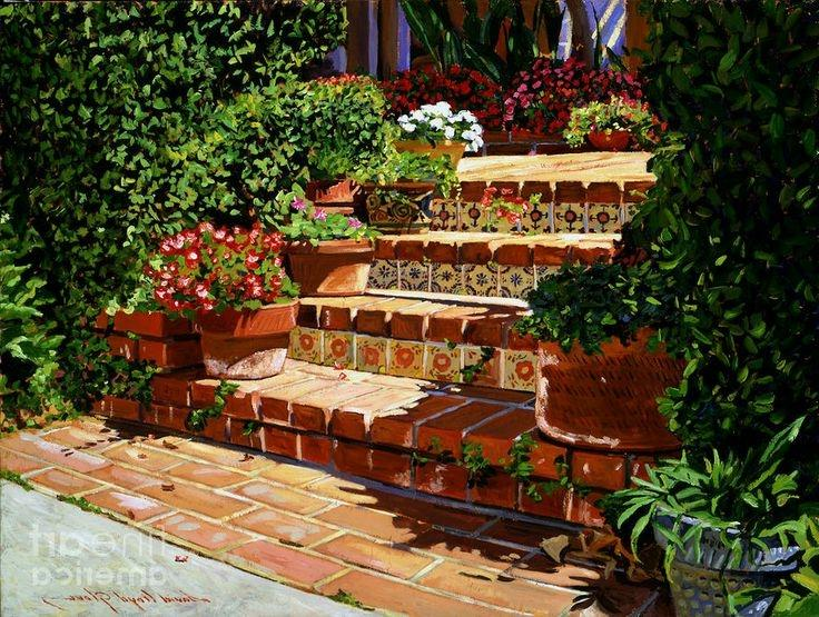 Spanish garden design photos