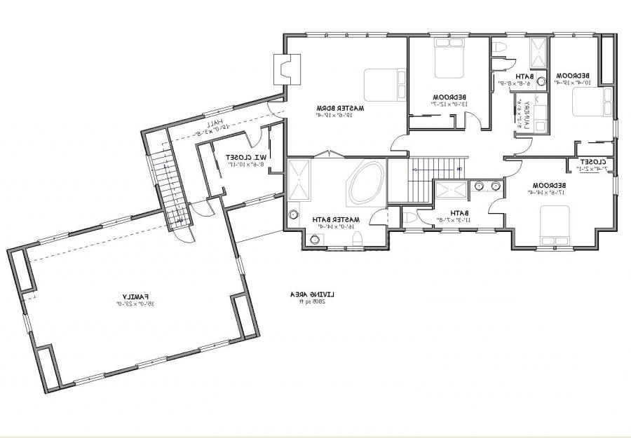 Big house plans photos for Large cape cod house plans