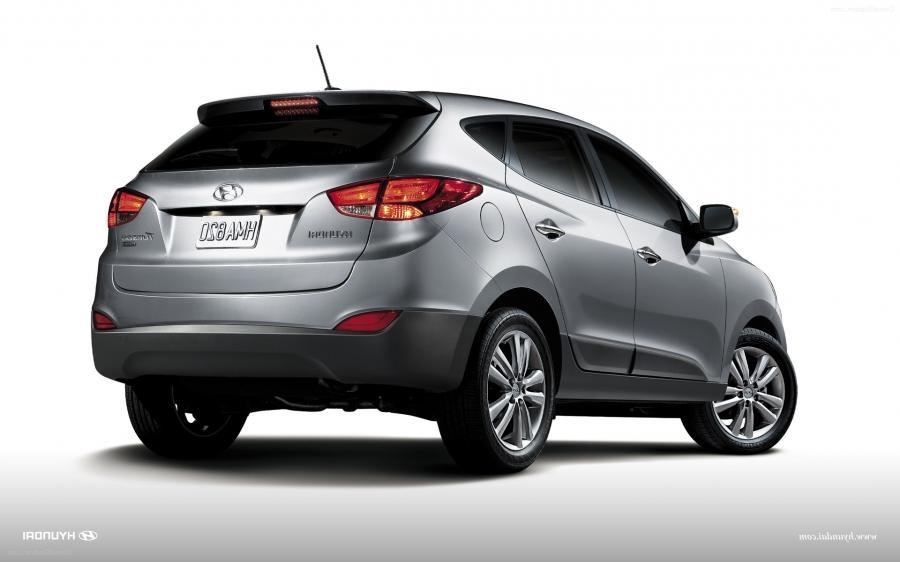 Hyundai Tucson 2013 Widescreen Exotic Car Wallpaper #09 of 30