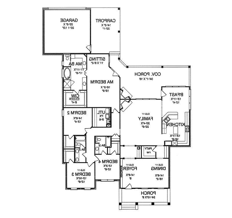 French acadian house plans with photos for Acadian floor plans