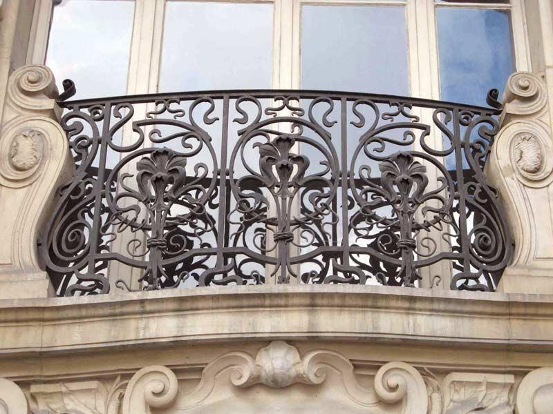 Custom iron balcony.steel balcony. 100 backyard balcony idea.