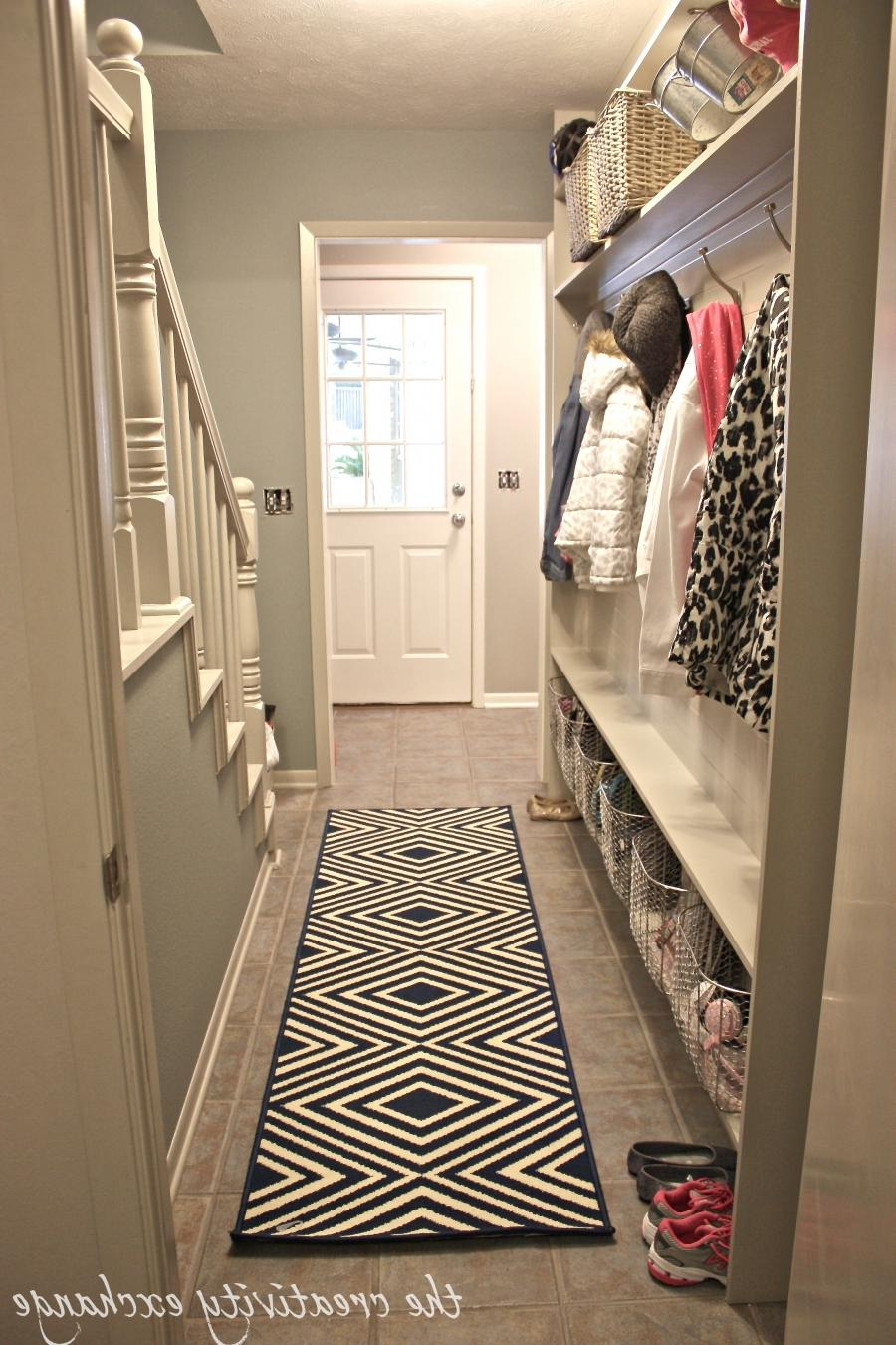 Tutorial for framing a narrow hallway built-in mudroom (The...