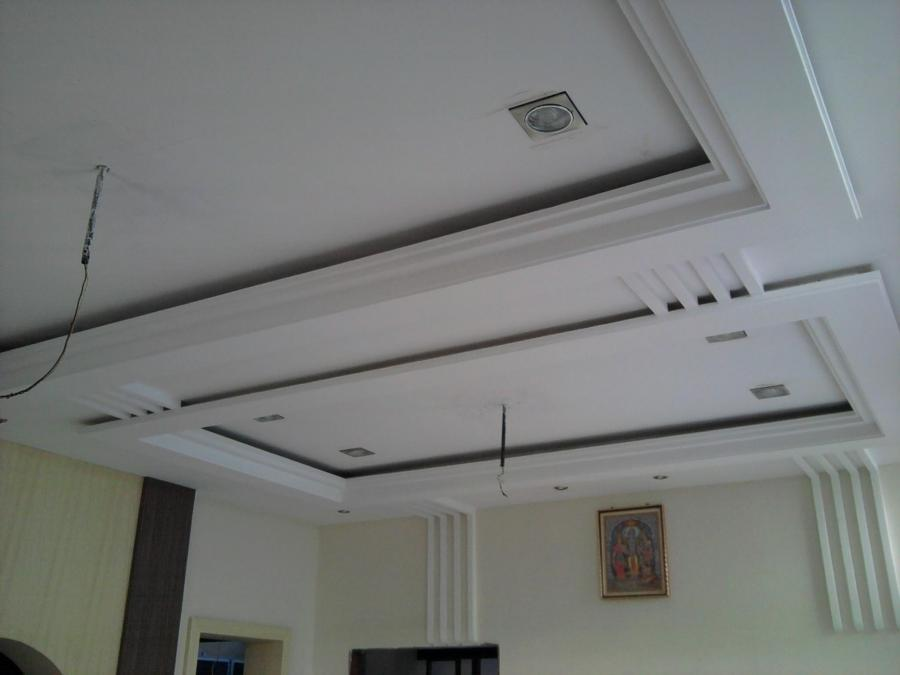 P o p design in ceiling photo for P o p bedroom designs