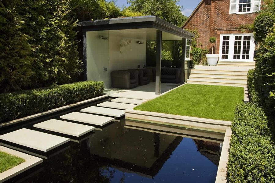Garden designs photo for Suburban garden design ideas