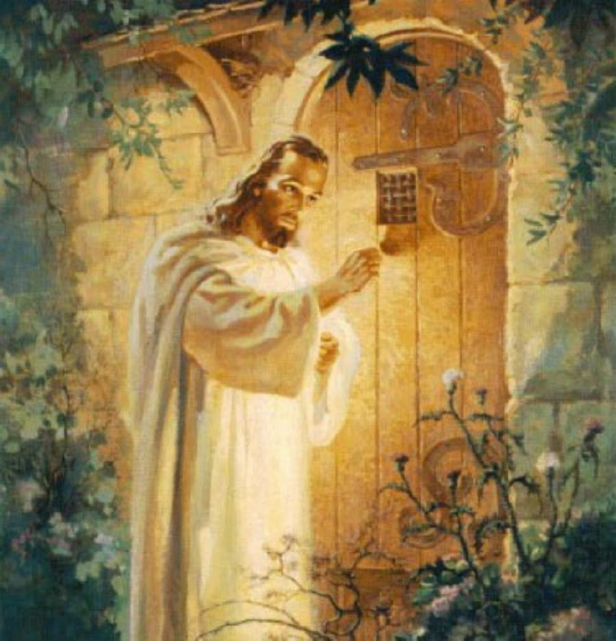 Photos Of Christ Knocking At The Door