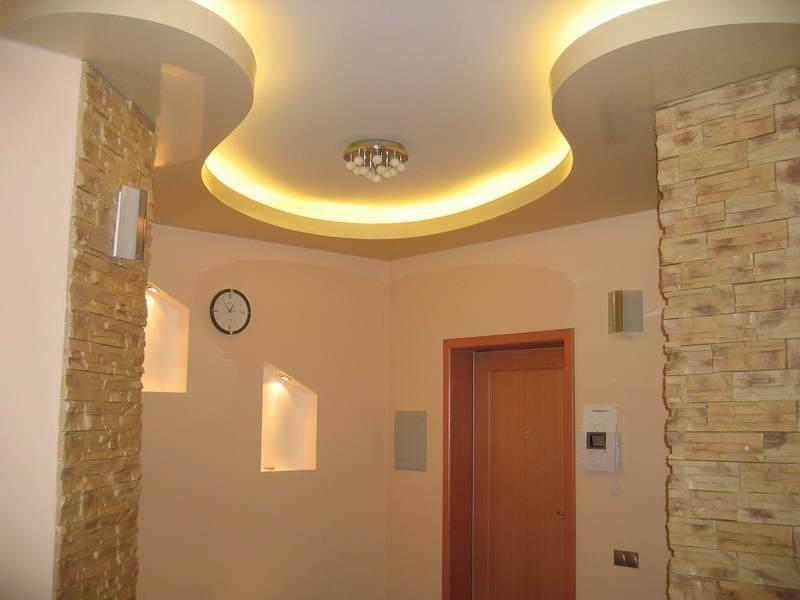 Texture Ceiling With Modern Design