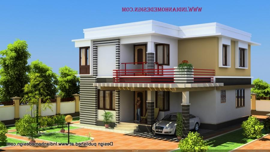 south indian style minimalist 1600 sq ft house exterior design
