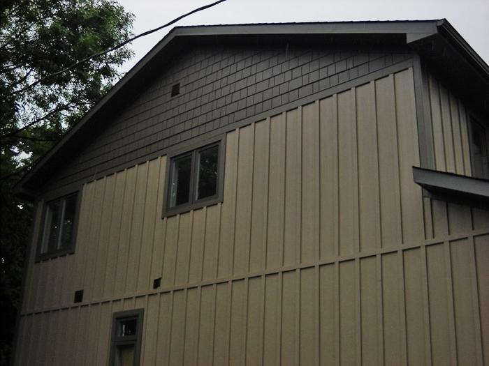Vertical Metal Siding Home Design