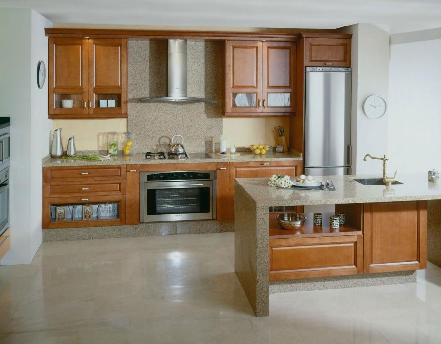 Natural Modern Kitchen Cabinet