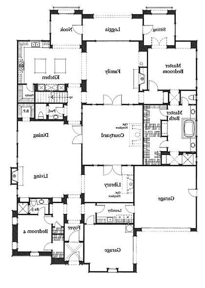 Home Plans Interior Photos