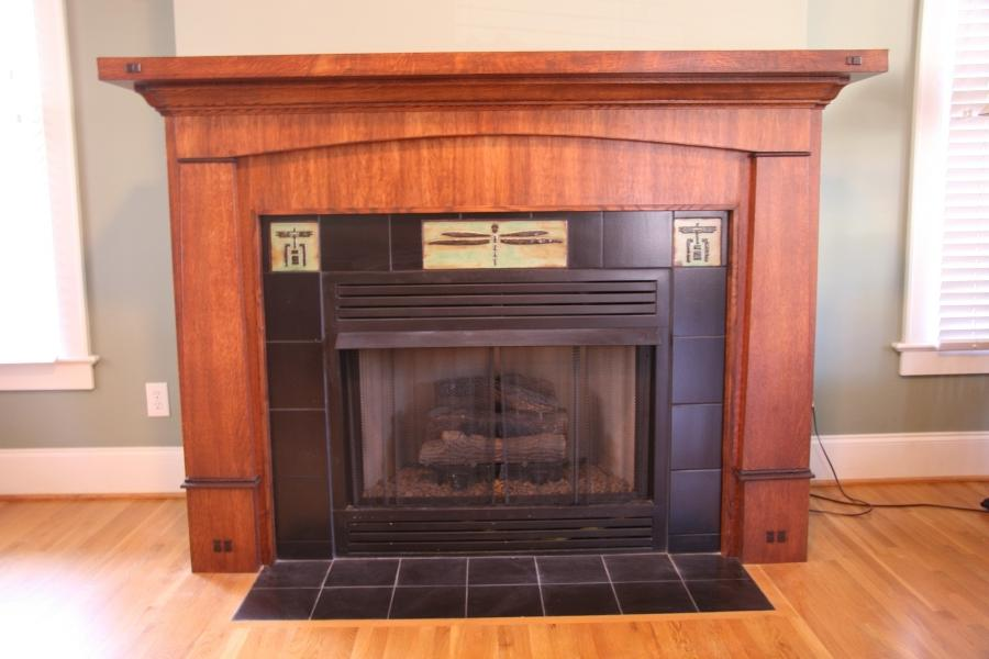 Craftsman fireplaces photos for Craftsman fireplaces photos