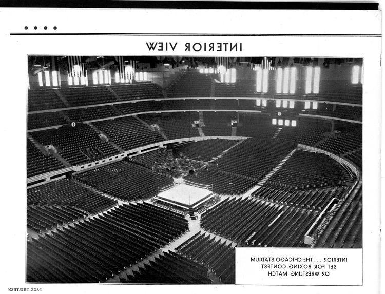 Chicago Stadium Interior Photos