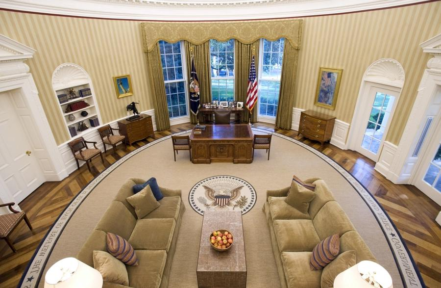 White House Oval Office Photos
