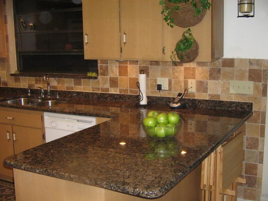 Kitchen With Granite Countertops Photos