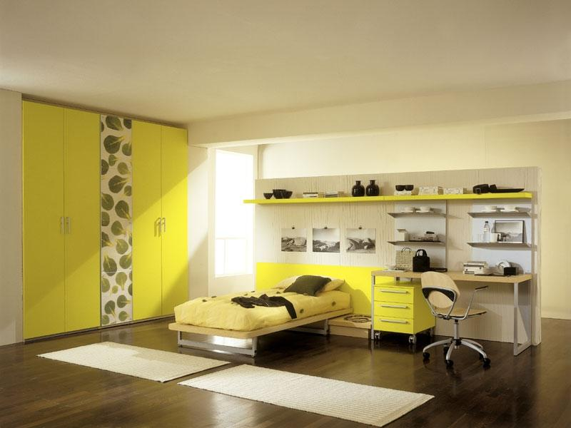 ... cute yellow bedroom decorating ideas