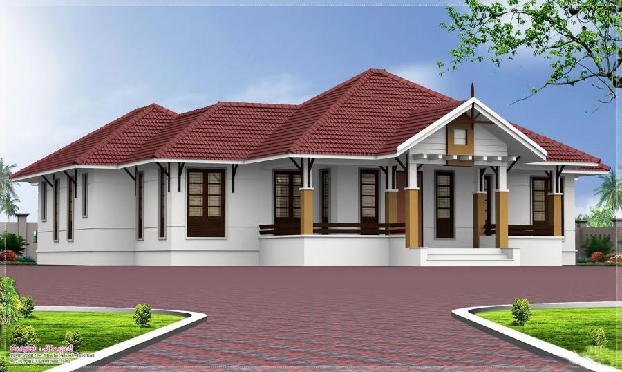 Kerala home designs photos in single