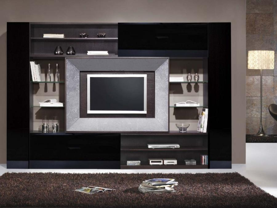 Lcd tv cabinet designs photos for Lcd designs for living room