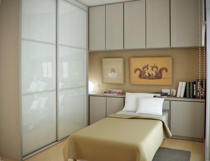 Спальня квадратная 10 метров дизайн