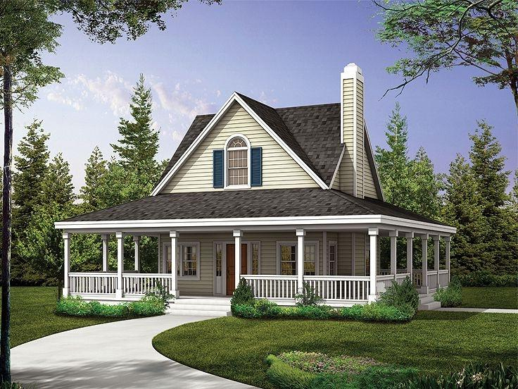 Small country house plans with photos for Affordable country house plans