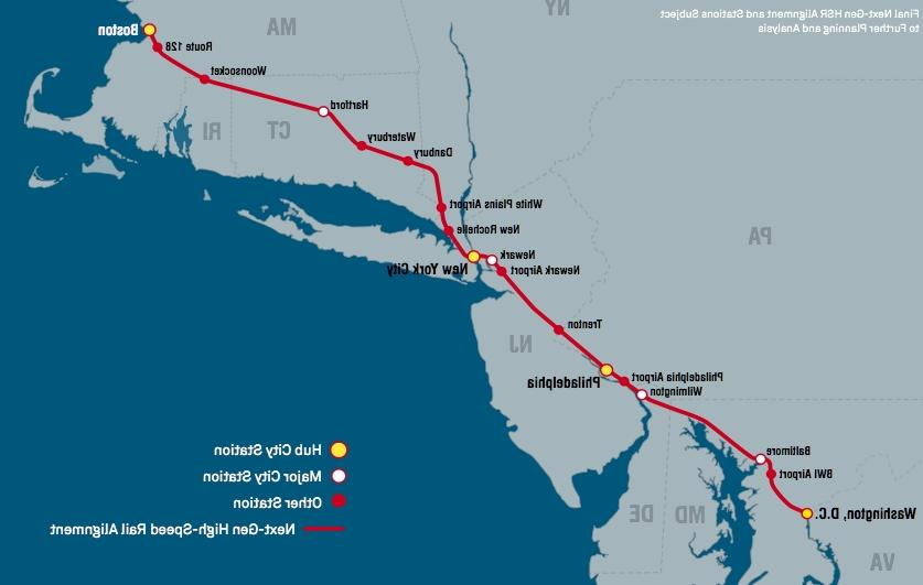 Amtrak Unveils Ambitious Northeast Corridor Plan, But It Would...