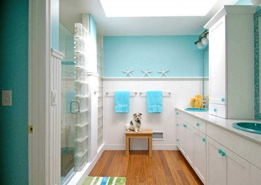 15 Beach Themed Bathroom Design Ideas: Photos Of Beach Themed Bathroom