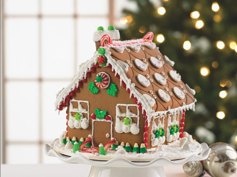 Photos Decorated Gingerbread Houses