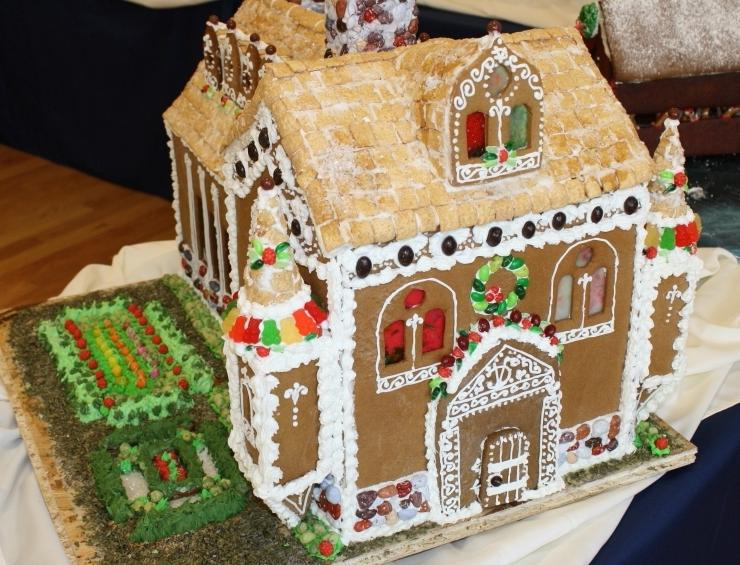Award Winning Gingerbread Houses Photos