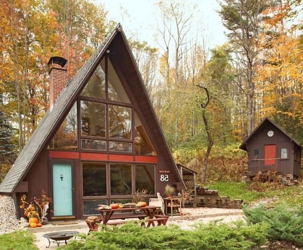 Строим дом шалаш 3