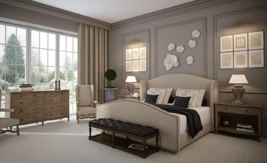 French Romance Master Bedroom Design 1024x626 French Bedroom...
