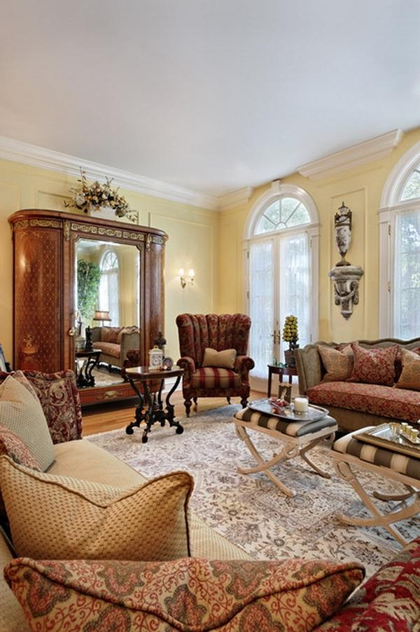 Traditional Victorian Living Room Furniture