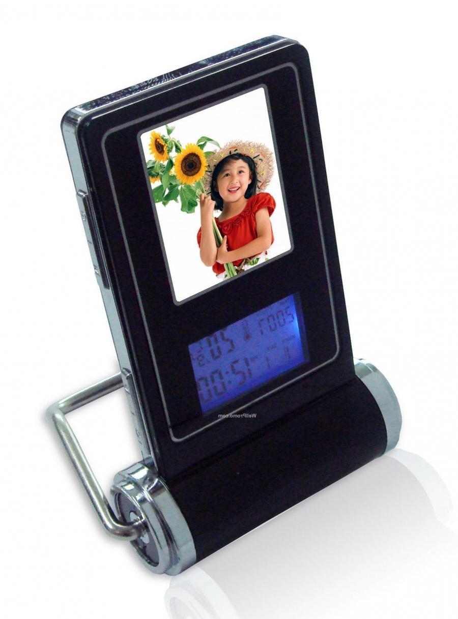 Digital Photo Frame Clocks