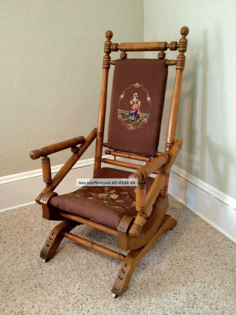 antique rocking chair photos. Black Bedroom Furniture Sets. Home Design Ideas