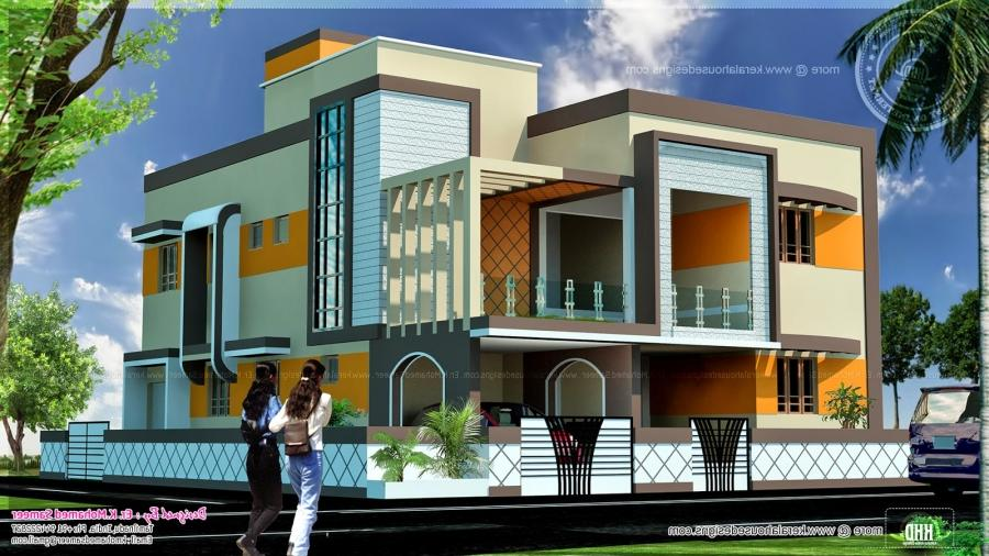 also Small House Front Elevation Designs likewise Tamil Nadu House ...