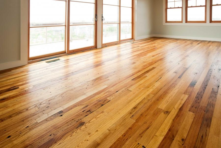 reclaimed salvaged antique repurposed american chestnut flooring...