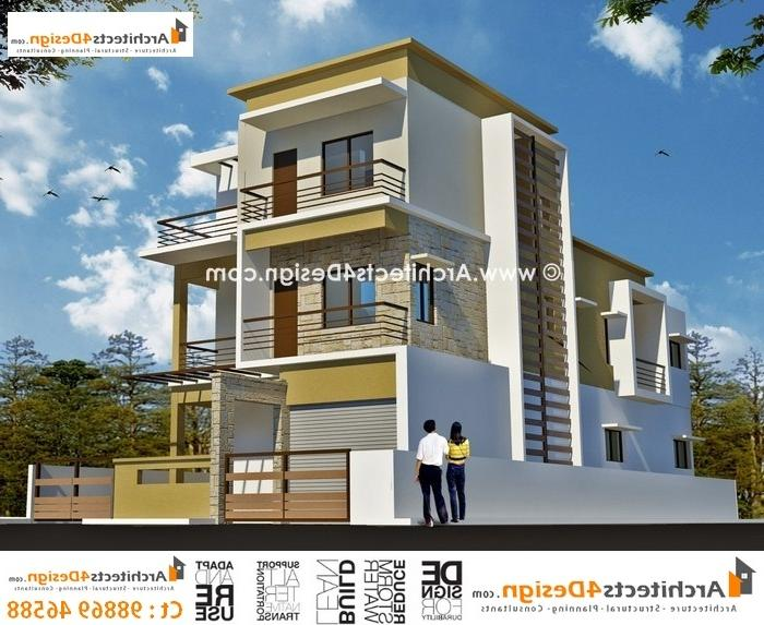 Duplex house photos in bangalore for Housse 30x50