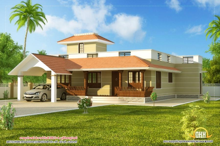 New Model Houses In Kerala Photos