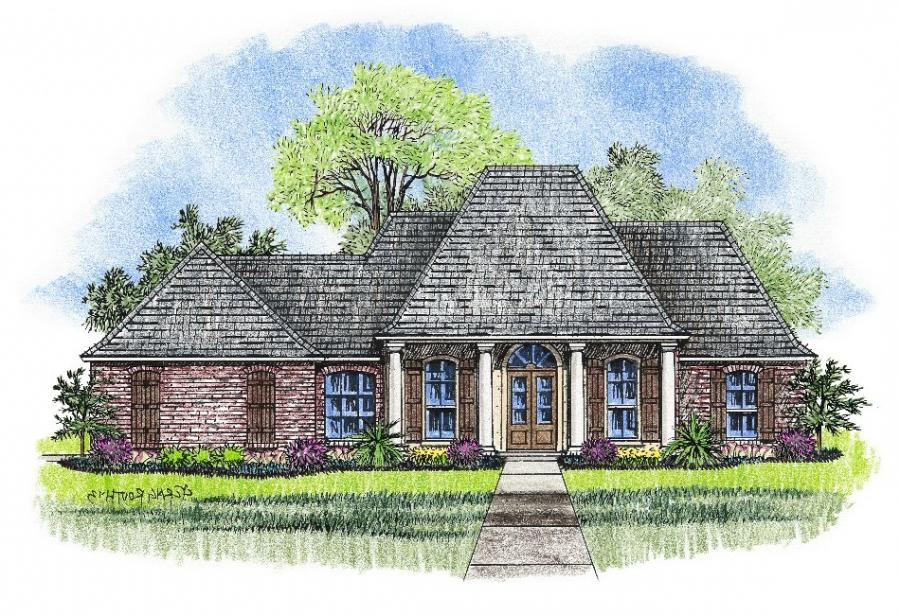 French acadian house plans with photos for House plans acadian