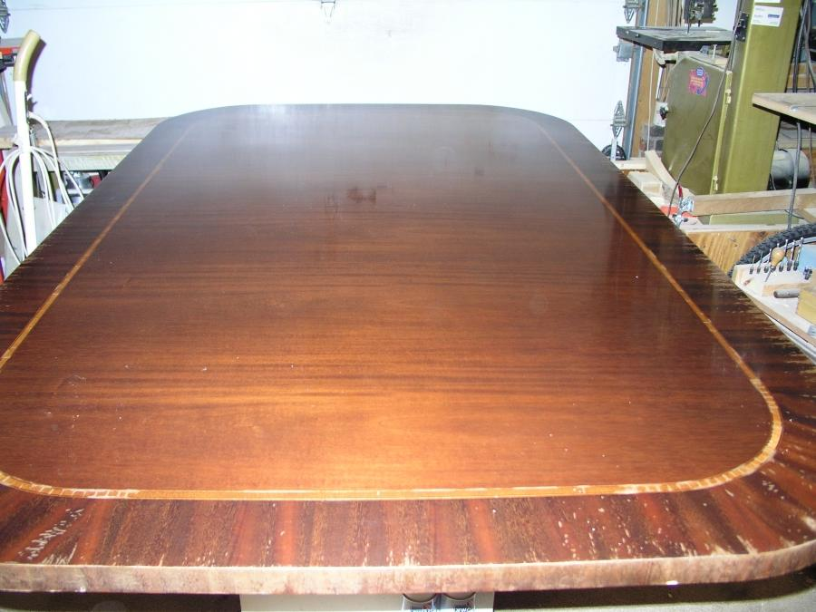 Photos water damaged furniture for Table 6 greensboro nc