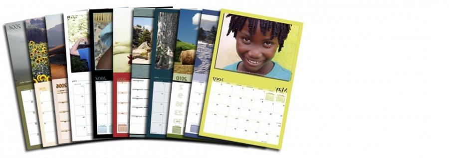 Personalised Desk Photo Calendars