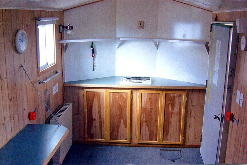 Ice fishing house photos for Red lake fish house rentals