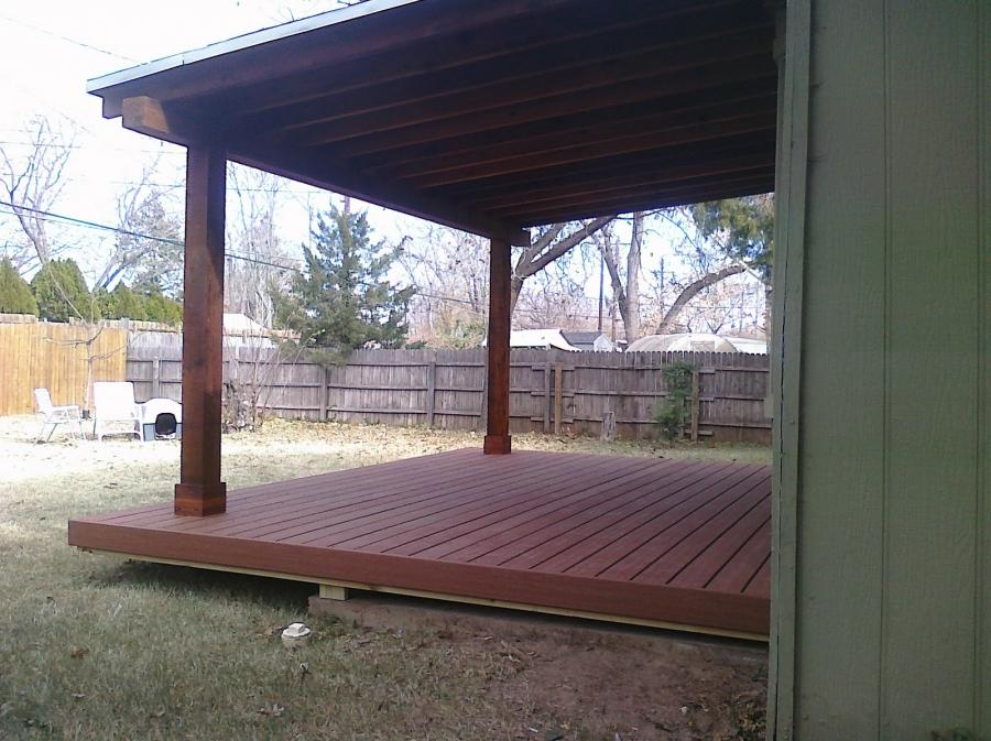 Back Porch Roof Photos
