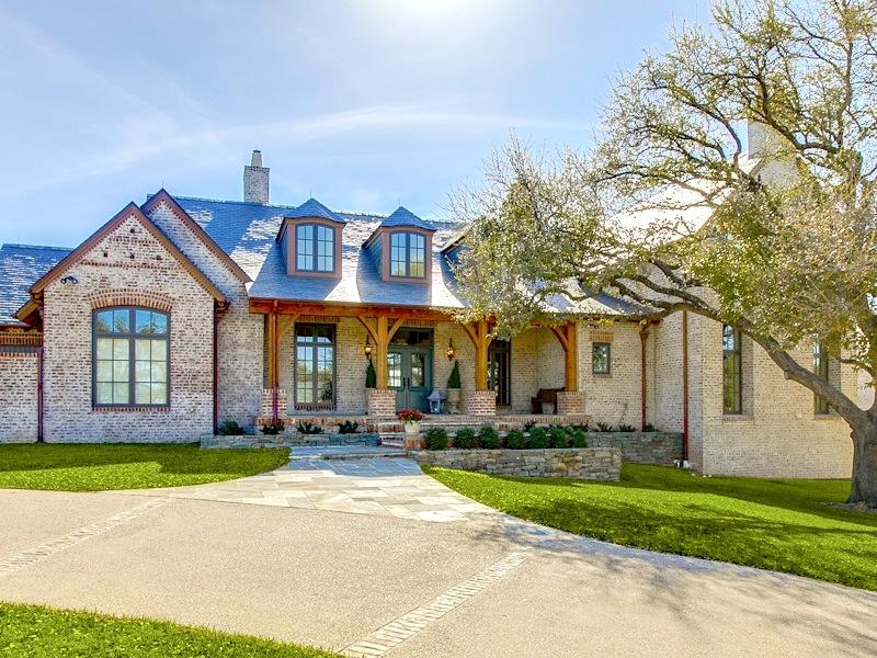 Texas hill country house plans photos Hill country style homes