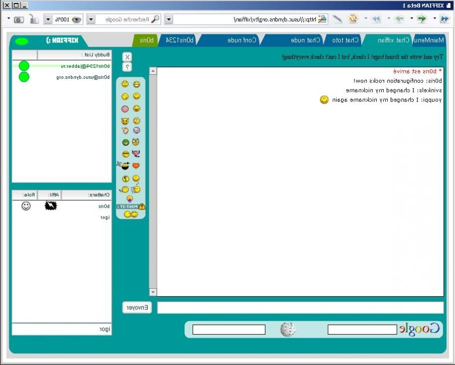 airg chat on computer