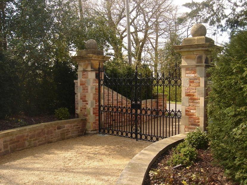 Entrance Gate Photo Stone