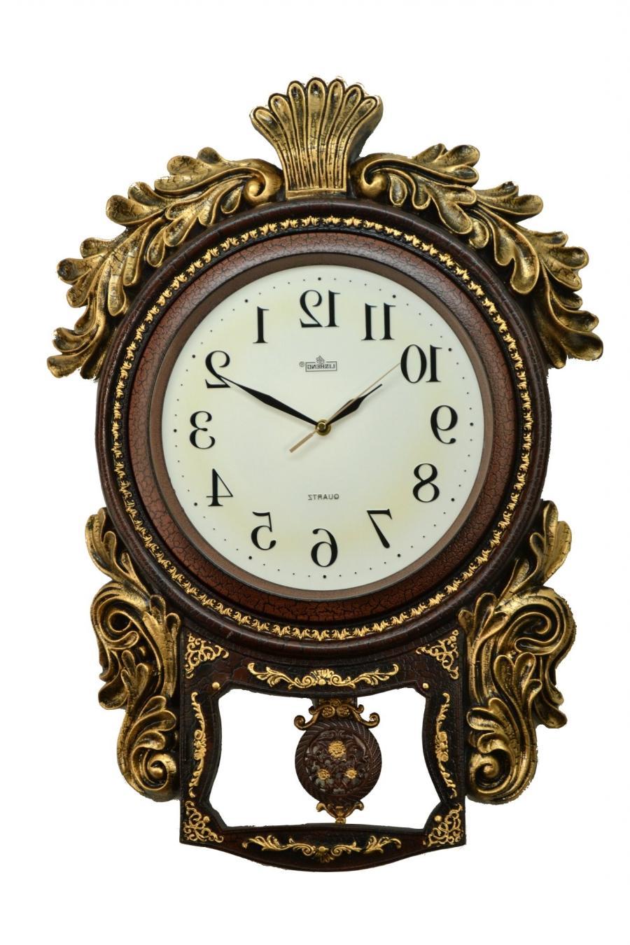 clock with photos
