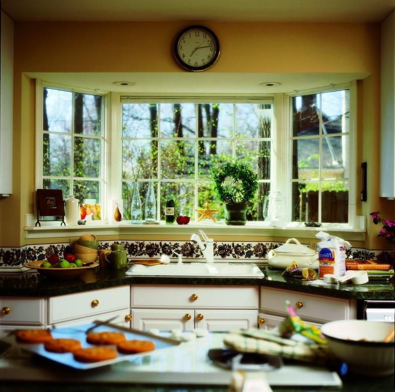 Kitchen Bow Windows : Kitchen window photo